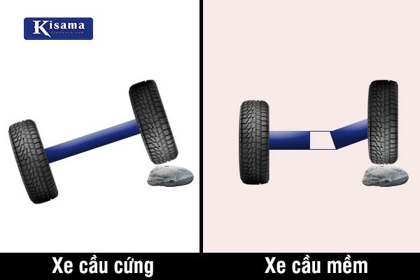 Nên chọn xe cầu cứng hay xe cầu mềm