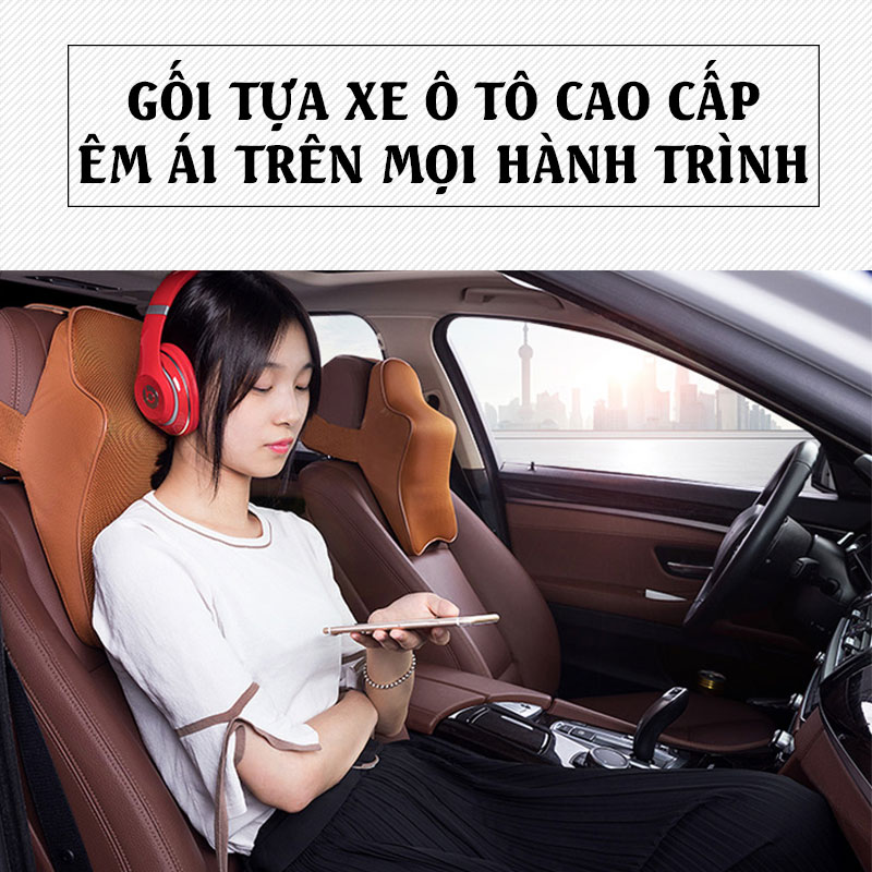 Gối tựa xe hơi cao cấp