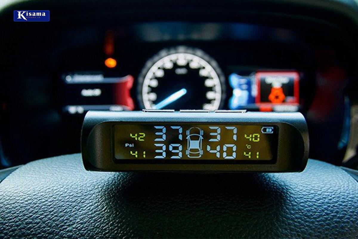 Lăp cảm biến áp suất lốp van trong như thế nào?
